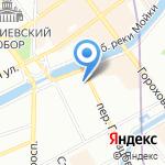 Каллисто на карте Санкт-Петербурга