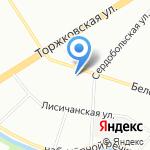 Черри на карте Санкт-Петербурга