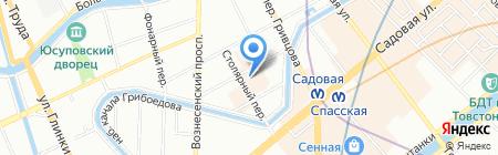 Аркопласт на карте Санкт-Петербурга