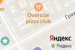 Схема проезда до компании Техносервис в Санкт-Петербурге
