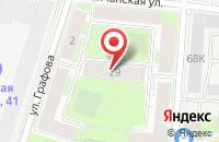 Схема проезда до компании Ангел в Санкт-Петербурге