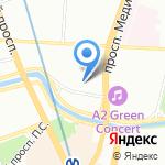 Мюнхгаузен на карте Санкт-Петербурга