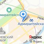 Бавикс на карте Санкт-Петербурга