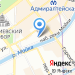 Polina Raudson на карте Санкт-Петербурга