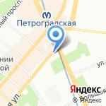 iSunny на карте Санкт-Петербурга