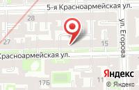 Схема проезда до компании Ижица в Санкт-Петербурге
