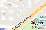 Схема проезда до компании Белорусский дворик в Санкт-Петербурге