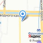 РОСТ на карте Санкт-Петербурга