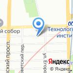 Отдельный батальон ДПС №1 на карте Санкт-Петербурга