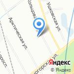 Петербургская усадьба на карте Санкт-Петербурга