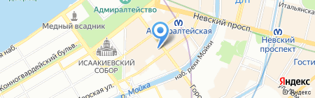 Candies by Coffee Room на карте Санкт-Петербурга