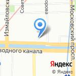 Стомсервис на карте Санкт-Петербурга