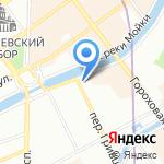 Представительство Кабардино-Балкарской Республики в г. Санкт-Петербурге на карте Санкт-Петербурга