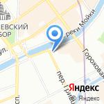 Soul Kitchen Hostel на карте Санкт-Петербурга