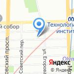 Гектар на карте Санкт-Петербурга