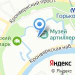 ТОП-кадр на карте Санкт-Петербурга