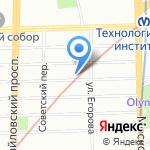 Детская библиотека им. М.Ю. Лермонтова на карте Санкт-Петербурга