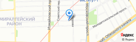 SMART DOORS на карте Санкт-Петербурга