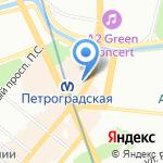 Республика на карте Санкт-Петербурга