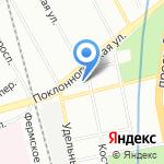 Облик на карте Санкт-Петербурга