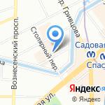 ТЭК-Консалтинг на карте Санкт-Петербурга