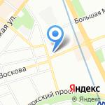 Dino-Lite на карте Санкт-Петербурга