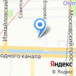 Пауэр Сервис Инжиниринг на карте Санкт-Петербурга