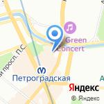 Ассоциация бухгалтеров СПб на карте Санкт-Петербурга