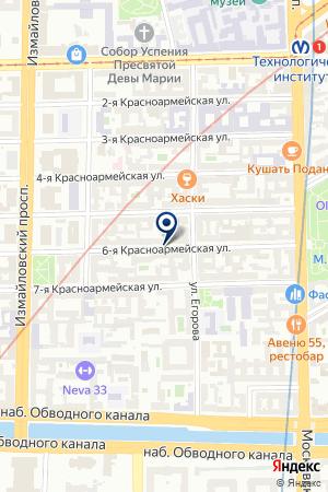 МАГАЗИН ДВЕРЕЙ ЕВРОГРУППА И ПАРТНЁРЫ на карте Санкт-Петербурга