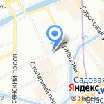 Студия живописи Надежды Морозовой на карте Санкт-Петербурга