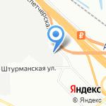 Груз-Экспресс на карте Санкт-Петербурга