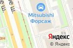 Схема проезда до компании Галант-Авто в Санкт-Петербурге