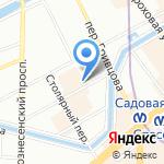 Красников на карте Санкт-Петербурга