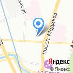 Cleverstudia на карте Санкт-Петербурга