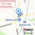 Магазин фермерских продуктов на карте Санкт-Петербурга