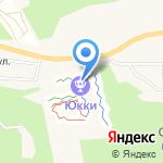 Юкки-Парк на карте Санкт-Петербурга