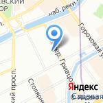 Российский аукционный дом на карте Санкт-Петербурга