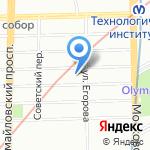 СИДГРАНТ на карте Санкт-Петербурга