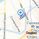 Петербургское поколение на карте Санкт-Петербурга