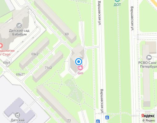 Товарищество собственников жилья «ТСЖ № 287» на карте Санкт-Петербурга