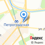 City 812 на карте Санкт-Петербурга