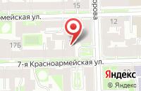 Схема проезда до компании Альтернативная Связь в Санкт-Петербурге