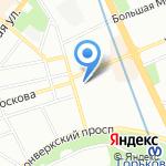 LENA на карте Санкт-Петербурга