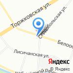 Клиника профессора А.И. Суханова на карте Санкт-Петербурга