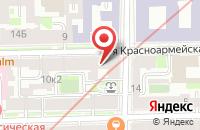Схема проезда до компании Промэнерго-Проект в Санкт-Петербурге