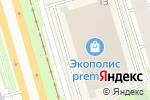 Схема проезда до компании Illy в Санкт-Петербурге