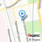 СОЛО на карте Санкт-Петербурга
