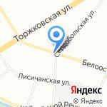 Бизнес Групп на карте Санкт-Петербурга
