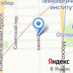 Верта на карте Санкт-Петербурга