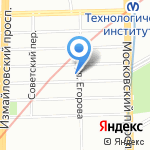 Медео на карте Санкт-Петербурга